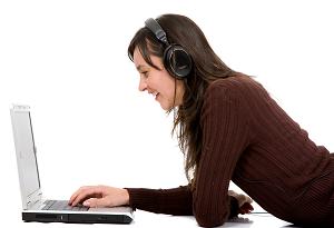 Use áudio online para fazer uma conexão mais pessoal